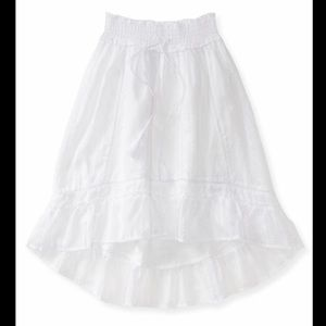 3 for $15 ⭐️ Aeropostale High Low White Skirt